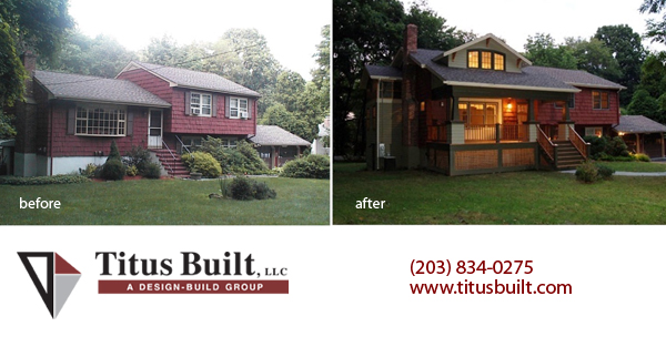 Fairfield county ct realtor buzz split levels raised ranch homes are selling titus built llc Before and after home exteriors remodels